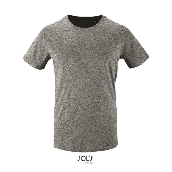 Camiseta Milo Men Hombre Sols - Gris Mezcla