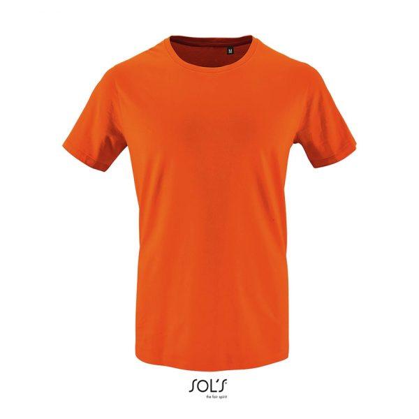 Camiseta Milo Men Hombre Sols - Naranja
