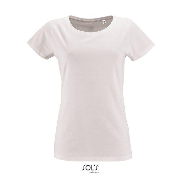 Camiseta Milo Women Mujer Sols - Blanco