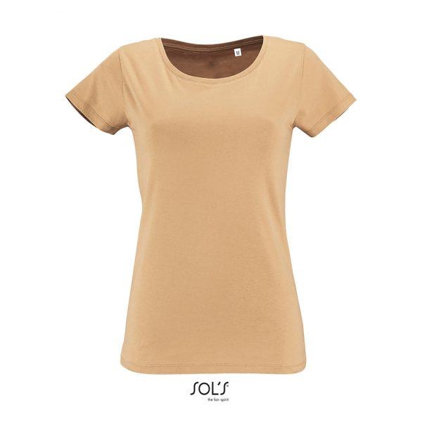 Camiseta Milo Women Mujer Sols - Arena