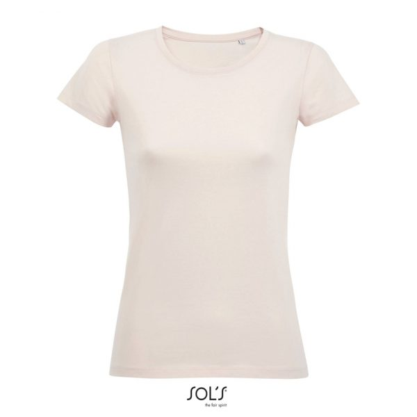 Camiseta Milo Women Mujer Sols - Creamy Pink