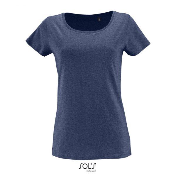Camiseta Milo Women Mujer Sols - Denim Jaspeado
