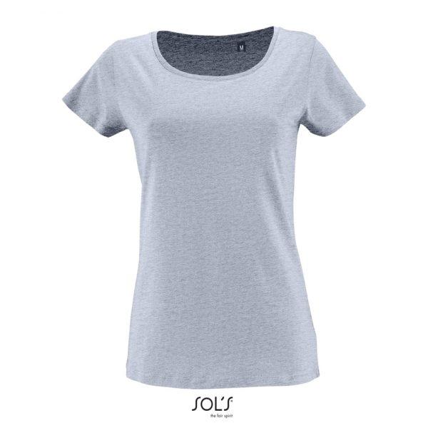 Camiseta Milo Women Mujer Sols - Azul Cielo Jaspeado