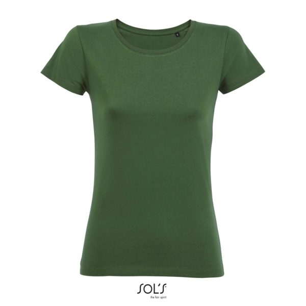 Camiseta Milo Women Mujer Sols - Verde Botella