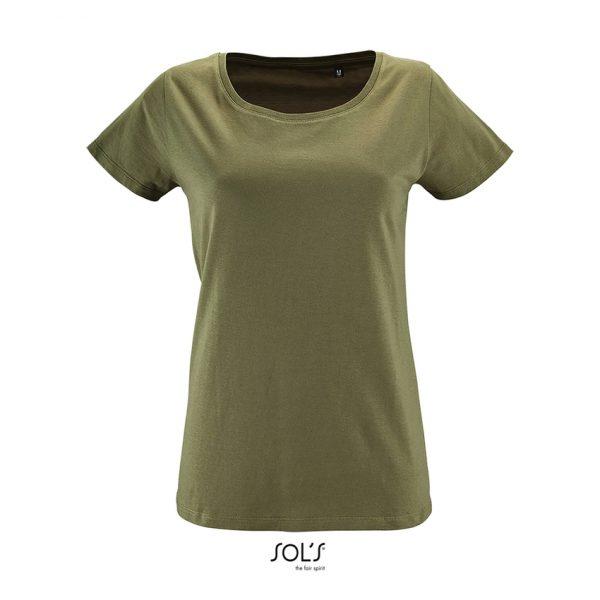Camiseta Milo Women Mujer Sols - Caqui