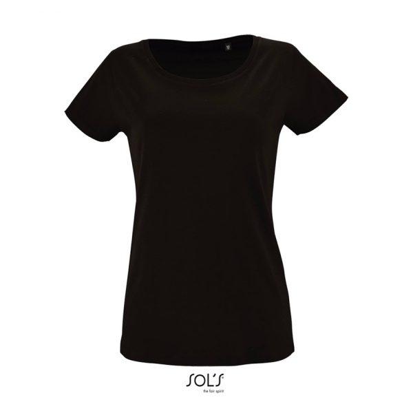 Camiseta Milo Women Mujer Sols - Negro Profundo