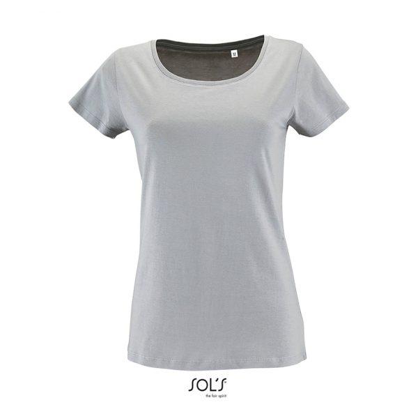Camiseta Milo Women Mujer Sols - Gris Puro