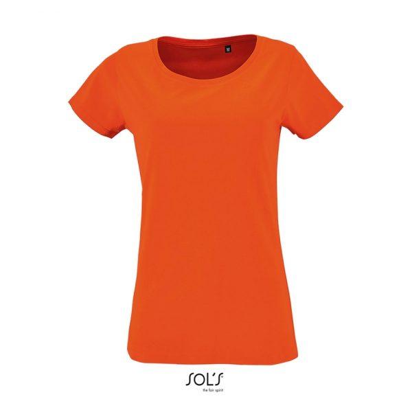 Camiseta Milo Women Mujer Sols - Naranja