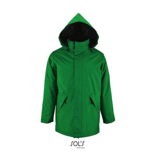 Chaqueta Robyn Unisex Sols - Verde Pradera