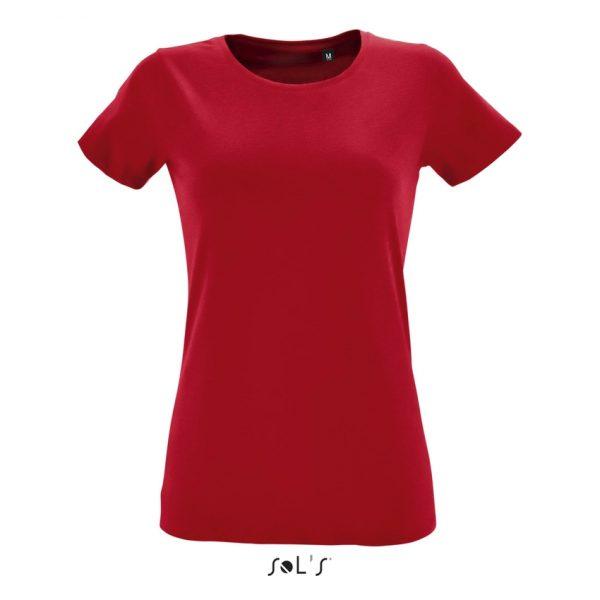 Camiseta Regent Fit Women Mujer Sols - Rojo