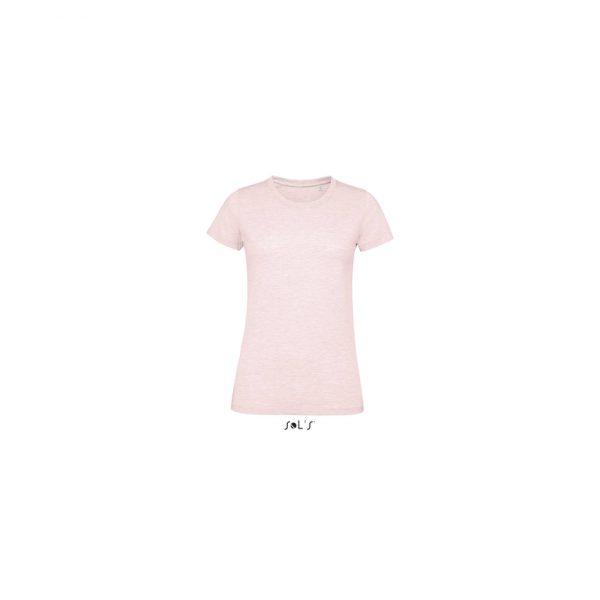 Camiseta Regent Fit Women Mujer Sols - Rosa Jaspeado