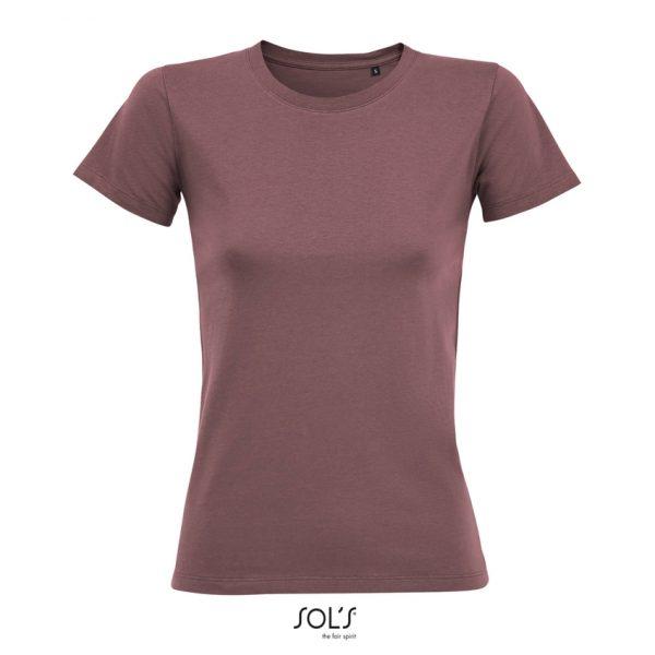 Camiseta Regent Fit Women Mujer Sols - Rosa Antiguo