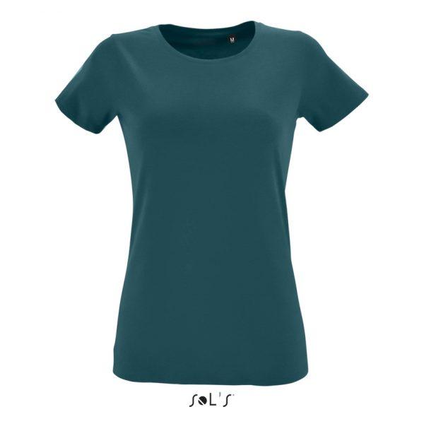 Camiseta Regent Fit Women Mujer Sols - Azul Duck
