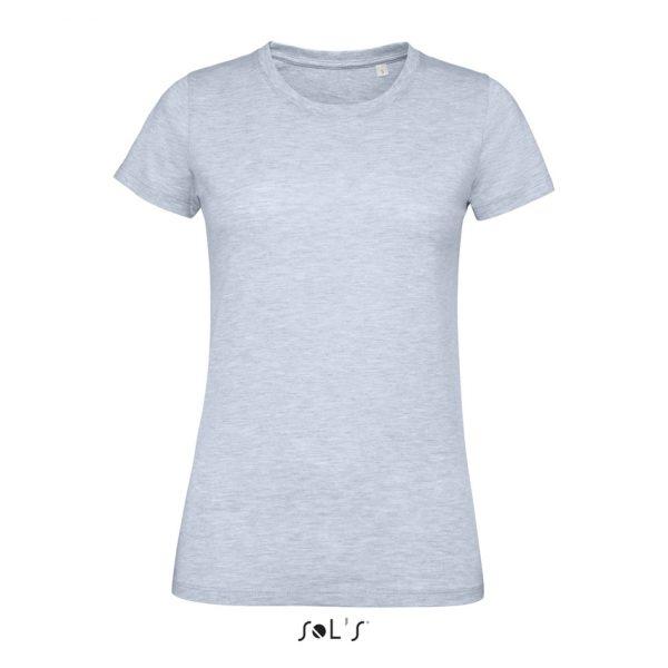Camiseta Regent Fit Women Mujer Sols - Azul Cielo Jaspeado