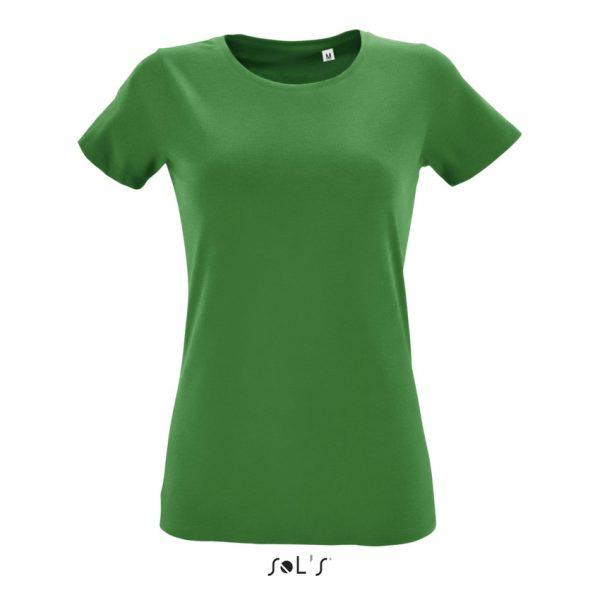 Camiseta Regent Fit Women Mujer Sols - Verde Pradera
