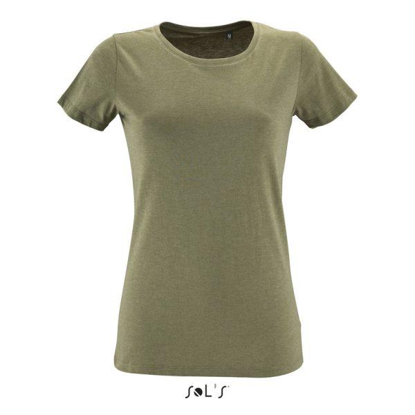 Camiseta Regent Fit Women Mujer Sols - Caqui Jaspeado