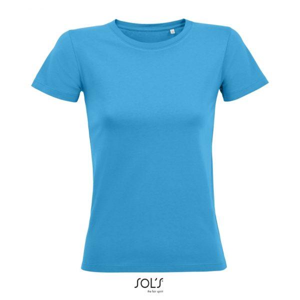 Camiseta Regent Fit Women Mujer Sols - Aqua