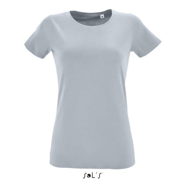 Camiseta Regent Fit Women Mujer Sols - Gris Puro