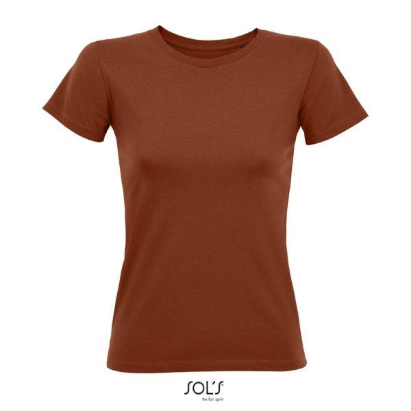 Camiseta Regent Fit Women Mujer Sols - Terracota