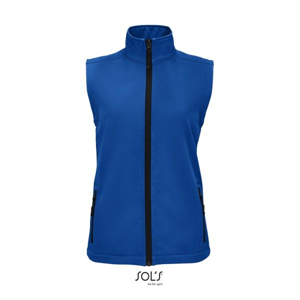 Softshell Race Bw Women Mujer Sols - Azul Royal
