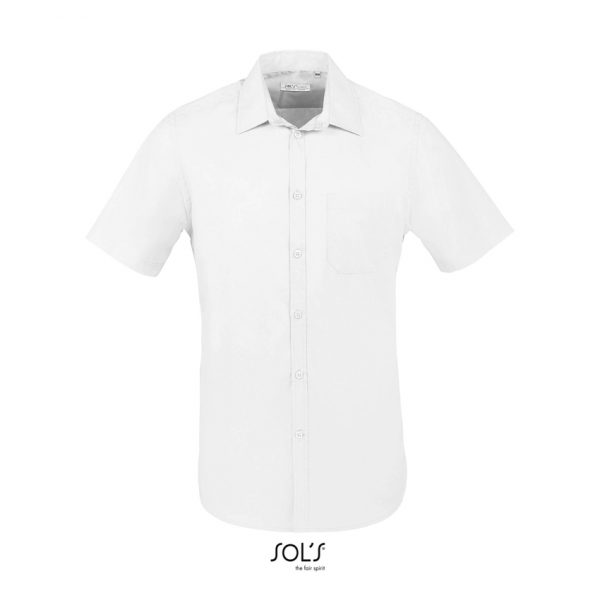 Camisa Bristol Fit Hombre Sols - Blanco