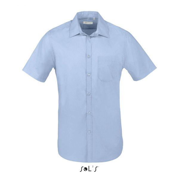 Camisa Bristol Fit Hombre Sols - Azul Cielo