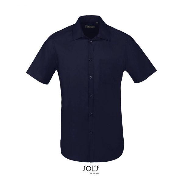 Camisa Bristol Fit Hombre Sols - Azul Oscuro
