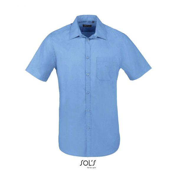 Camisa Bristol Fit Hombre Sols - Azul Medio