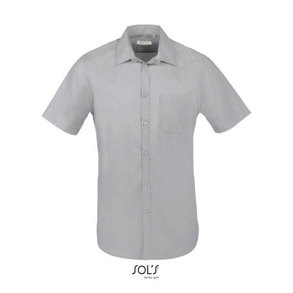 Camisa Bristol Fit Hombre Sols - Gris Perla