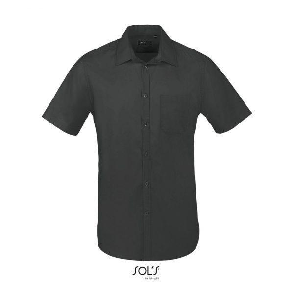 Camisa Bristol Fit Hombre Sols - Gris Titanio