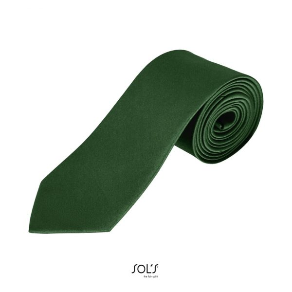 Corbata Garner Unisex Sols - Verde Botella