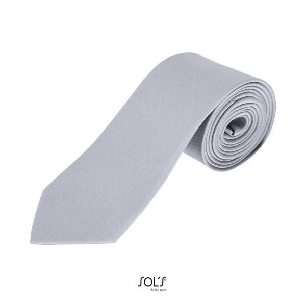 Corbata Garner Unisex Sols - Silver