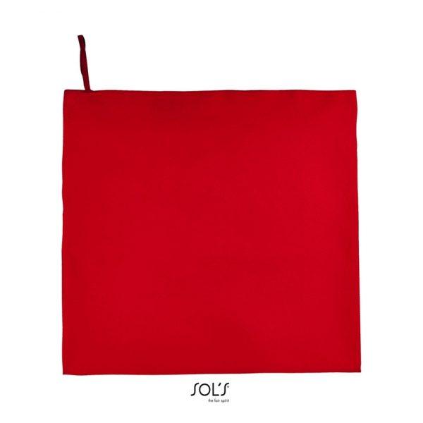 Toalla Atoll 100 Unisex Sols - Rojo