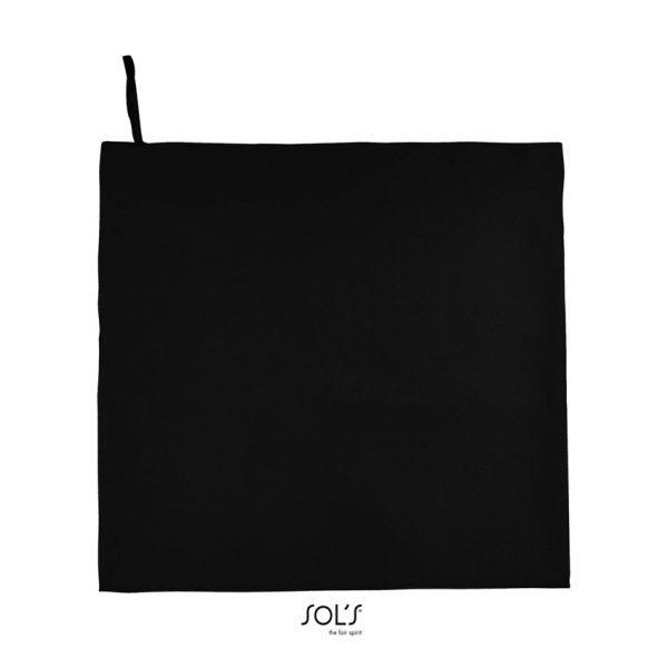 Toalla Atoll 100 Unisex Sols - Negro