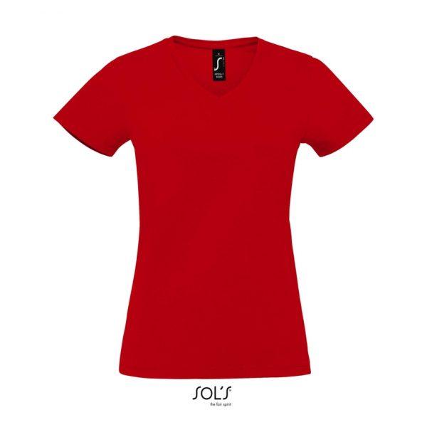 Camiseta Imperial V Women Mujer Sols - Rojo