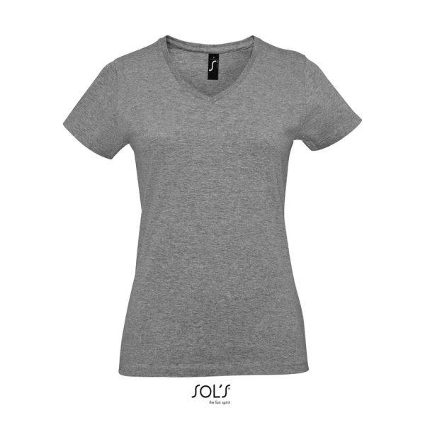 Camiseta Imperial V Women Mujer Sols - Gris Mezcla