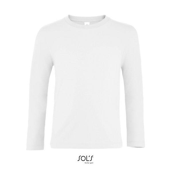 Camiseta Imperial Lsl Kids Niño Sols - Blanco