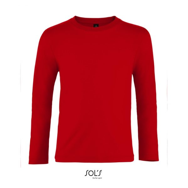 Camiseta Imperial Lsl Kids Niño Sols - Rojo