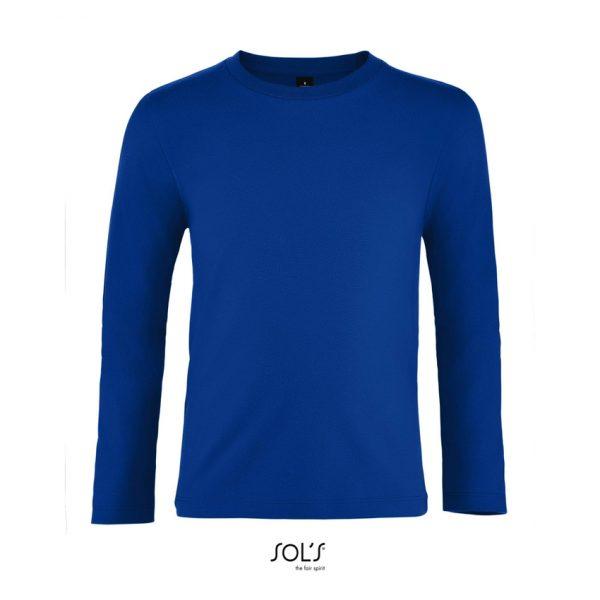 Camiseta Imperial Lsl Kids Niño Sols - Azul Royal