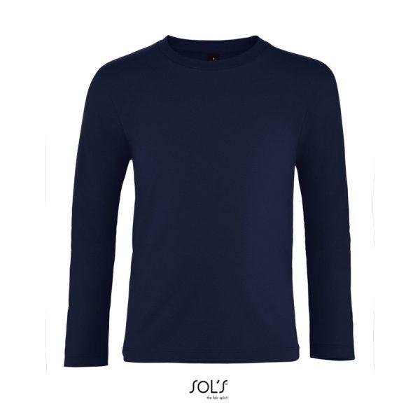 Camiseta Imperial Lsl Kids Niño Sols - French Marino