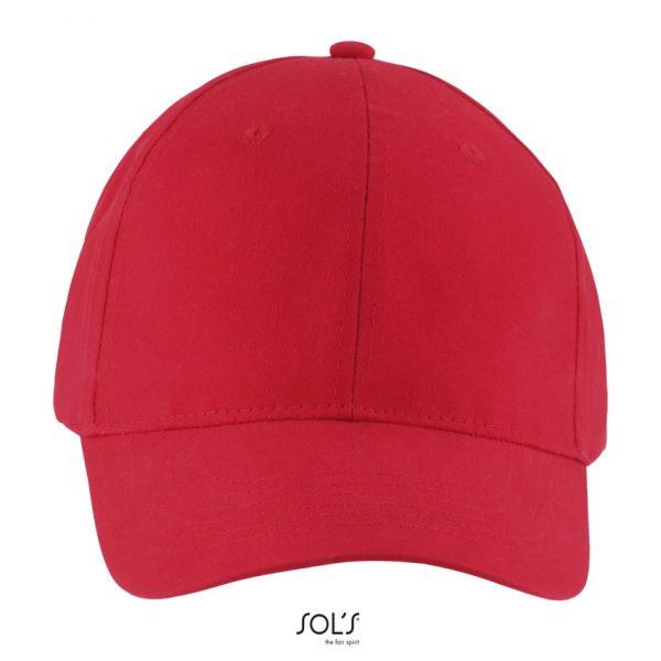 Gorra Solar Unisex Sols - Rojo