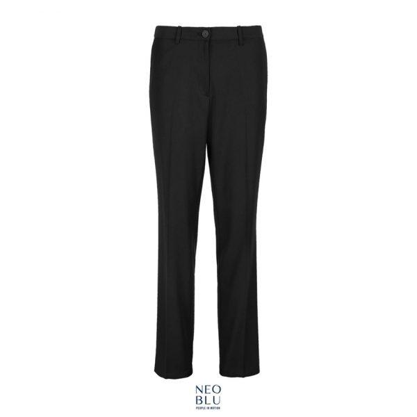 Pantalones Neoblu Gabin Women Mujer Sols - Negro Profundo