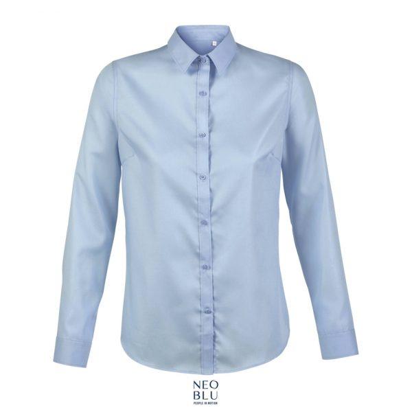 Camisa Neoblu Blaise Women Mujer Sols - Azul Claro
