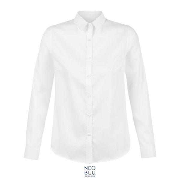 Camisa Neoblu Blaise Women Mujer Sols - Optico Blanco