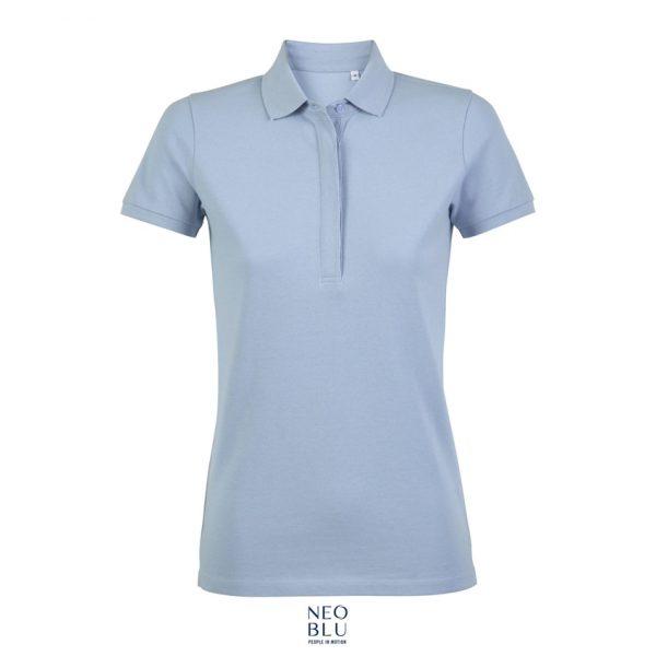 Polo Neoblu Owen Women Mujer Sols - Azul Claro