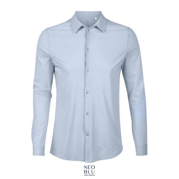 Camisa Neoblu Balthazar Men Hombre Sols - Azul Claro