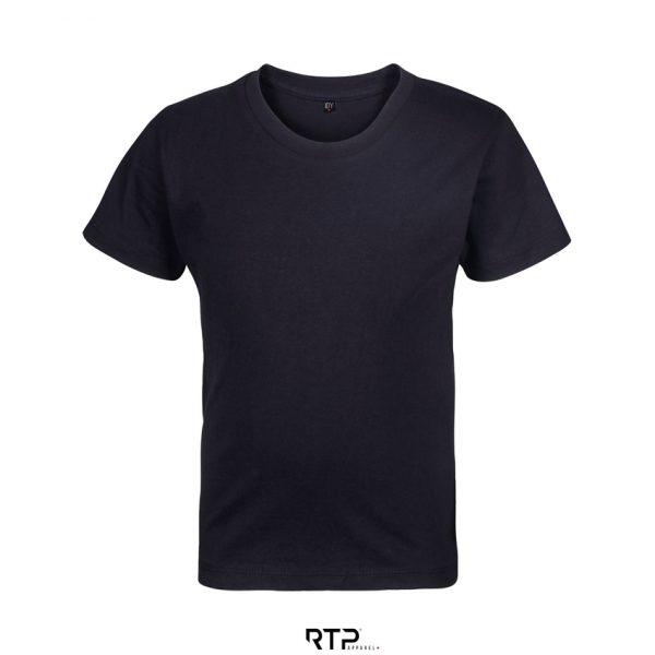 Camiseta Rtp Apparel Cosmic 155 Kids Niño Sols - Negro Profundo