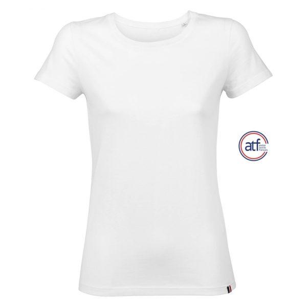 Camiseta Atf Lola Mujer Sols - Blanco