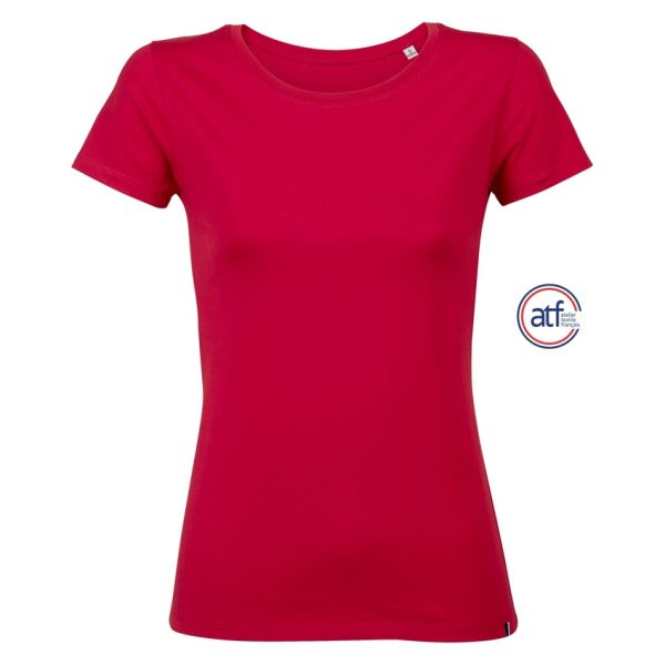 Camiseta Atf Lola Mujer Sols - Rojo