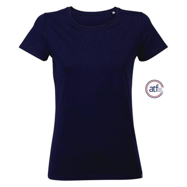 Camiseta Atf Lola Mujer Sols - Azul Marino